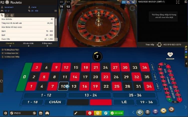 cách chơi roulette casino